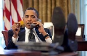 President Obama demanded that Mubarak step down, and showed him the sole of his shoes....metaphorically.