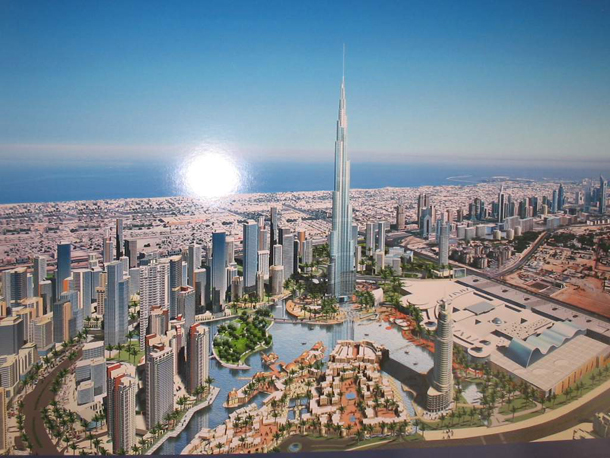 the world dubai sinking. Burj-Dubai-the-highest-