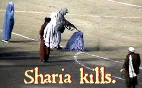 Muslim woman stoned death
